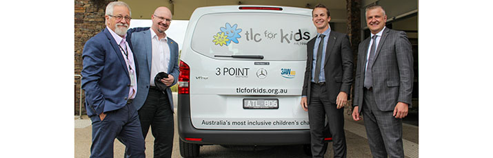 TLC for Kids Vito Van 3 Point Motors Charity Partners