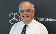 Brian Johnston Mercedes-Benz